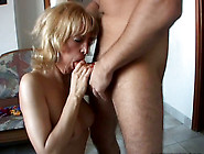 Hungry For Cock Mature Mom Is Working Her Mouth Hard Giving Awes