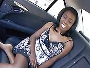 Cute Black Teen Hot Sex In The Car