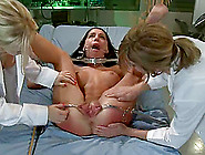 Micah Moore Gets Her Cunt Examined By Two Salacious Nurses