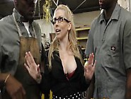 Blonde Ass Rides Big Dick