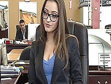 Dani Daniels At The Office