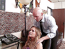 Kiara Mia Is Eaten Out Before She's Nailed By A Big Cock