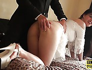 British Bdsm Sub Whipped And Spanked