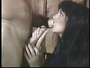 Buff Stud Gets His Hard Cock Deep Throated By Brunette Babe Befo