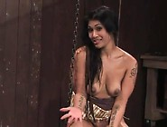 Japanese Siren Is Chained And She Tires To Have Out So Bad