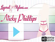 Layered Nylons 15 05 10 Nicky Phillips Xxx Gagvid 2541 Hd