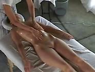 Sensual Lesbian Massage Ends In Orgasm