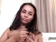 European Teen Enjoys Pussy Pump And Sticks Long Fuck Toy In Puss