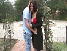 Slutty Brunette Ryder Skye Enjoys Having Wild Sex Outdoor