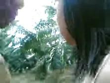 Horny Mexican Teen Gets Outdoor Fucked