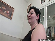 Olderwomanfun's Dagmar,  Blow Your Cum Load On Mom's Tongue