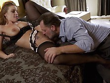 Nylons Sn 5 Britney Amber Wears Sexy Stockings As She Fucks