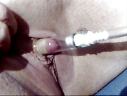 Pandora's Clit, Her Pump And Bbq Tools Up Her