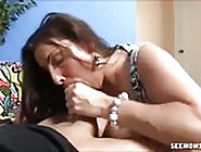 Mom Stacie Starr Blowjob