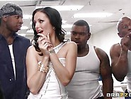 Black Inmate Trio Fuck Hailey Youngs Tight White Pussy
