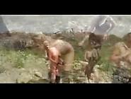 Crucified-Slavegirls-Outdoors 4Min