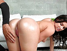 Hard Spanking Of A Sweet Ass