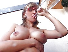 Shelby Moon Loves To Let Water Dribble All Over Tits