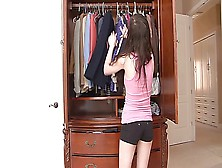 Petite Teen Convinces Her Black Stepdad To Let Her See Her Boyfr