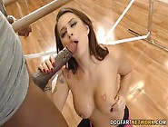 Sporty Eva Angelina Fucked By A Black Cock