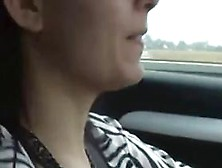 Zuzinka Czech Student - Orgasm While Driving