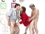 Japanese Gameshow Host Fucked Part 5