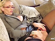 Lucy Zara Rubbing Her Pussy