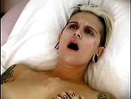 Punk Girl With Big Boobs Masturbating