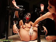 Restrained Sub Pussy Toy