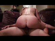 Big Ass Amateur Whore Riding Her Horny Man's Fat Cock On Th