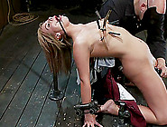 Tara Lynn Foxx Gets A Few Orgasms While Being Punished In A Cell