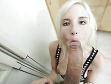 Shy Teen Piper Perri Sucks Monster Cock