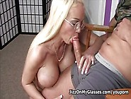 Beach Blonde Babe Carson Carmichael Huge Fake Tits Sucks Big Coc
