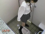 Masturbation Hidden Cam Action From Teen In School Toilet