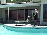 Good Looking Milf Fucked By The Pool