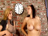 Gianna Michaels And Sara Jay Lesbian Play