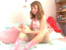 Sweet Teen Is Filled With Spunk