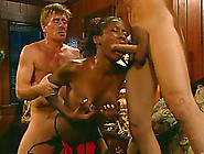 Two White Boys Fucking A Mature Black Lady Mercilessly