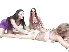 Hot Babes Taylor Vixen,  Capri Cavanni And Jayden Cole