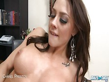 Brunette Milf Chanel Preston Gets Facialized
