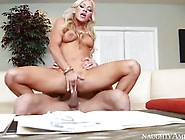 Cameron Dee Enjoys In Reverse Cowgirl Pose
