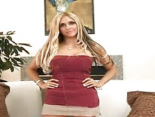 Blonde Gal Carmel Moore Gives The Titjob And Has Unforgettably B