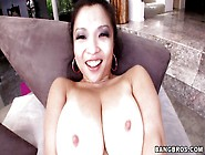 Huge Boobs Slut Deep Throating A Big Cock