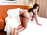 Sexy Brunet Plays With Her Experiments Her New Sex Toys