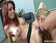 Blonde Porn Video Featuring Brynn Tyler And Monique Alexander