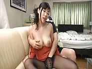Amazing Japanese Milf With Big Natural Boobs