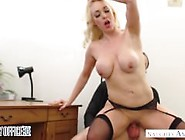 Busty British Babe Victoria Summers Fucks For A Promotion Naught