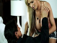 Nikki Benz Pornstar With Huge Tits Gets A Monster Cock
