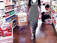 Long Skirt Sexy Dress Shopping Filipino Babe