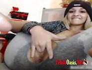 30 Squirt Sabrosa Gringa Record En La Webcam